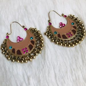 Jewelry - Indian Bollywood Bohemian Statement Earrings